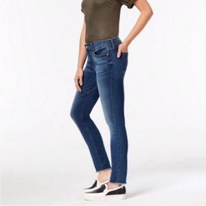 7 For all mankind Skinny Jeans | Raw Hem | 27